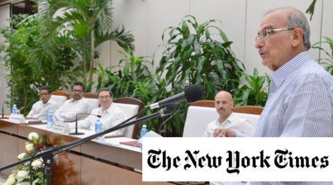 The New York Times respalda el nuevo acuerdo de paz en Colombia