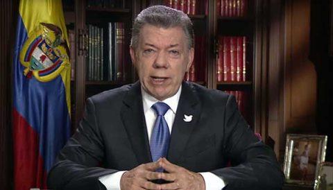 Presidente Santos pide extender las negociaciones con voceros del no