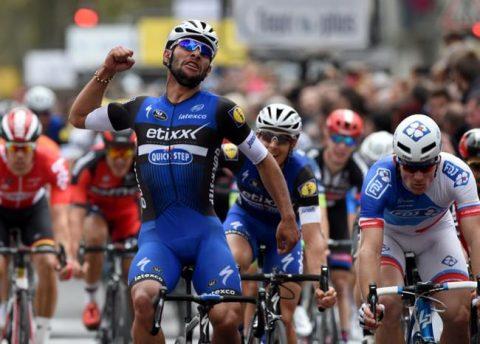 Fernando Gaviria ganó la primera etapa de la Vuelta a San Juan en Argentina