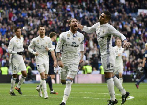 Real Madrid se afianzó en el liderato tras tropiezos del Barcelona y Sevilla