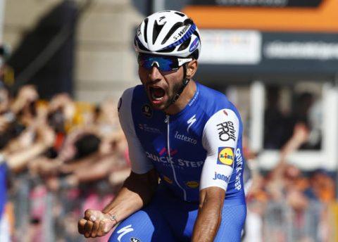 Fernando Gaviria gana la quinta etapa y suma dos en el Giro de Italia