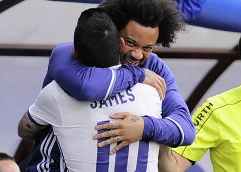 James habría rechazado apoyo de Ronaldo y Marcelo frente a directivas del Madrid