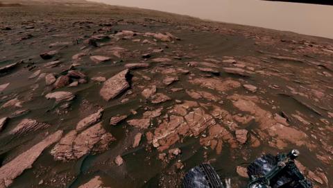 [VIDEO] La NASA muestra la superficie de Marte en una panorámica de 360 grados