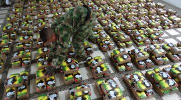 En Tumaco cayeron dos toneladas de estupefacientes que iban a salir de contrabando