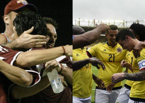 Las sedes que baraja Venezuela para recibir a Colombia por Eliminatorias