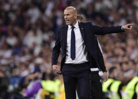 En el Real Madrid, si no rindes te vas a tu casa: Zinedine Zidane