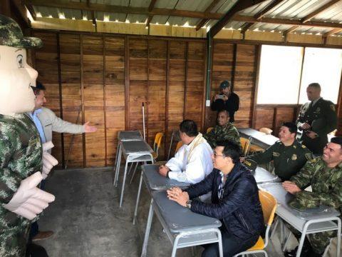 Entregadas cuatro aulas educativas para niños del corregimiento de El Encanto, Nariño