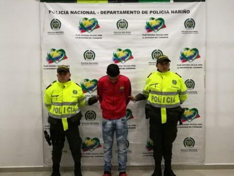 Jorge Henao fue detenido por jugar a la 'bolita' en Ipiales