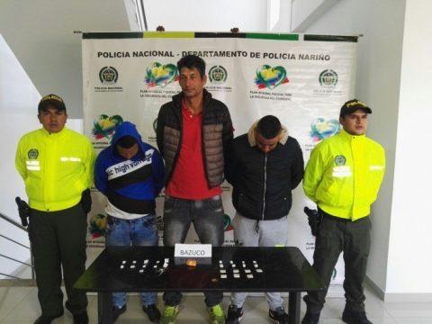 Capturados tres 'jíbaros' del barrio Villa Nueva de Ipiales, Nariño