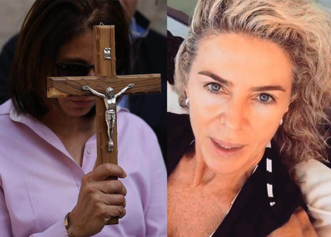 Jesús resultó de derecha, me llevo una decepción más: Margarita Rosa de Francisco