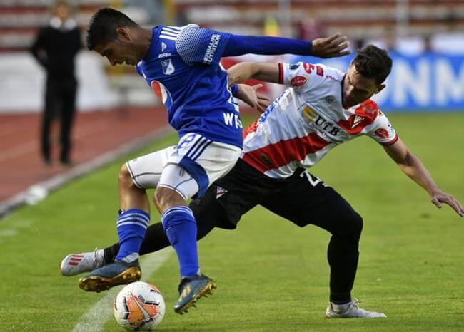 Millonarios sufrió más de la cuenta, pero avanzó en la Copa Sudamericana