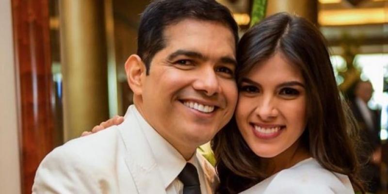 Tata Becerra aprovechó el aislamiento para realizar divertidos videos con su esposo Peter Manjarrés