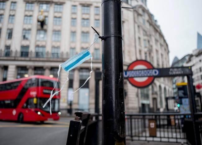 Reino Unido confirma 708 nuevas muertes por coronavirus en un día