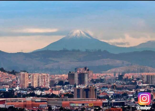 ¡Sí es el real! Las majestuosas imágenes del Nevado del Tolima visto desde Bogotá