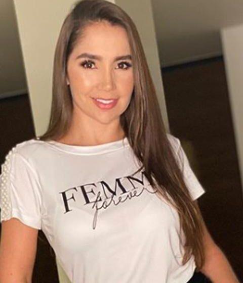 Paola Jara mostró con quien pasa la cuarentena después de que Jessi Uribe se fue