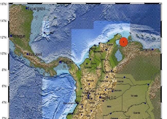 Sismo de magnitud 4.9 sacudió a Venezuela la madrugada de este viernes