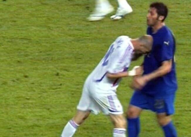 Zidane contra Materazzi: se cumplen 14 años del cabezazo más famoso en el fútbol