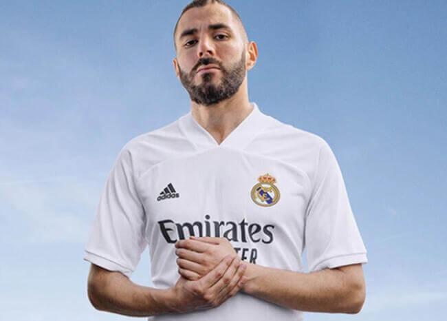 El Real Madrid presenta sus nuevas camisetas