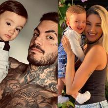 Mateo Carvajal y Melina Ramírez celebran el primer cumpleaños de su hijo