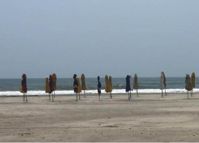 ¡A la playa sí, pero con tapabocas! Gobierno anuncia protocolo para los bañistas