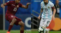 Este viernes Argentina se enfrenta contra Venezuela en cuartos de final