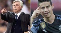 """«Lamentablemente en este momento James no es nuestro"""": Ancelotti"""
