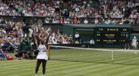 Serena Williams es multada por 10.000 dólares en Wimbledon