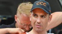 Patrick Bevin es el primer ciclista que abandonar el Tour de Francia 2019