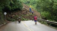 Declaran calamidad pública en suroeste antioqueño por derrumbe en Troncal del Café