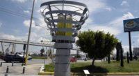 Árboles artificiales buscan disminuir la contaminación en México