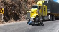 Video: Youtuber se salva de milagro tras accidente de tránsito en el Cañón del Chicamocha