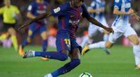 Malas noticias para el Barcelona: Dembelé, cinco semanas fuera de las canchas