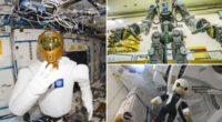 Fedor, el robot humanoide ruso, se acopló a la Estación Espacial Internacional