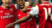 Arsenal comenzó con pie derecho la Europa League ganando 3-0 al Frankfurt