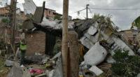 Al menos 7 personas muertas luego que avioneta cayera sobre un barrio en Popayán