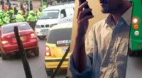 Policía identificó a tres conductores que enviaron mensajes amenazantes por redes