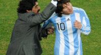 Maradona dice que Messi es el mejor del mundo gracias a este consejo suyo