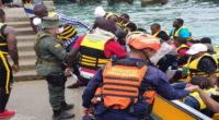 Trasladan a Capurganá a 181 migrantes que estaban varados en Turbo y Necoclí
