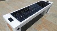 Las sillas inteligentes con paneles solares y wifi que instalaron en Sabaneta