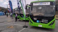 ¡Por un mejor medioambiente! Cali pone a rodar sus primeros 26 buses eléctricos