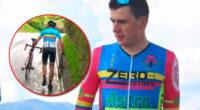 Los ciclistas vivimos de berraquera, el tiempo de Dios es perfecto: Germán Gómez