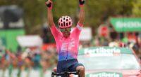 ¡Otro triunfo colombiano! Sergio Higuita ganó la etapa 18 de La Vuelta