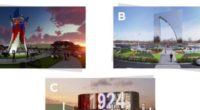 Estas son las propuestas que se disputan la construcción del monumento del Junior