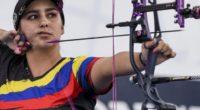 ¡Orgullo colombiano! Sara López, campeona mundial de Tiro con Arco por quinta vez