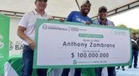 El regalo que recibió Anthony Zambrano en Barranquilla