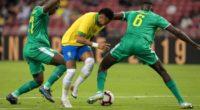 ¡Faltó contundencia! Brasil no pasó del empate ante Senegal en amistoso internacional