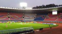 Ambas Coreas empatan 0-0 en un histórico 'partido fantasma'