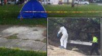 ¡Macabro hallazgo! Encuentran cadáver en una carpa ubicada en zona verde de Tuluá