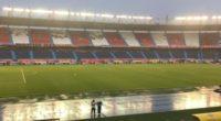Suspendieron varios minutos partido Junior – Equidad por tormenta eléctrica