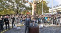 ¡Donde empezó todo! Ibrahimovic inaugura su estatua en su ciudad natal